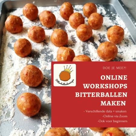 online bitterballenworkshop